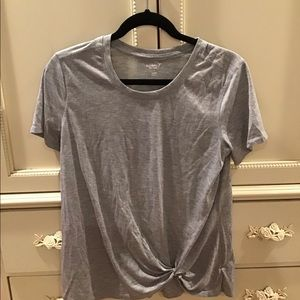 Old Navy Active Knot Side front workout top shirt